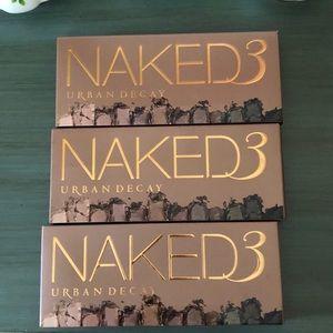 3 Naked 3 palettes